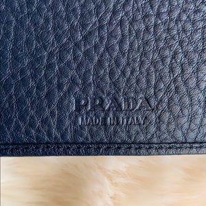 Prada Bags - PRADA Vitello Bifold Wallet